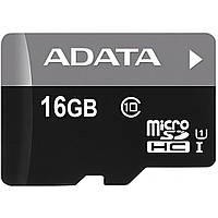 Карта памяти A-DATA 16GB microSD class 10 UHS-I (AUSDH16GUICL10-R)