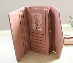 Красивый женский кошелёк с ярким принтом., фото 3