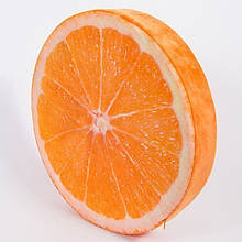 Декоративна 3D подушка Апельсин