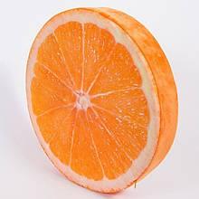 Декоративная 3D подушка Апельсин