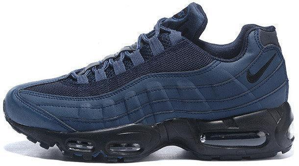 Мужские кроссовки Nike Air Max 95 Dark Blue Black — лучшая цена ... 51255570669