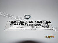 Кольцо стальное 10 (зубчатое), кат. № DIN 6798A