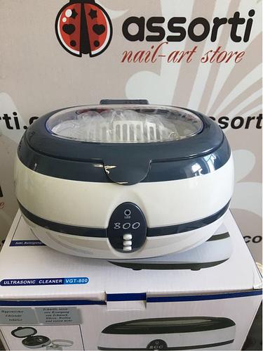 Стерилизатор ультразвуковой VGT-800 для маникюрных и парикмахерских инструментов (Ультразвуковая мойка)