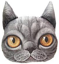 Декоративная 3D подушка Британский кот