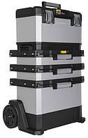 Ящик для инструментов с колесами Stanley FatMax Rolling Workshop 1-95-622 металлопластмассовый, фото 1