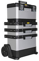 Ящик для инструментов с колесами Stanley FatMax Rolling Workshop 1-95-622 металлопластмассовый