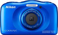 Фотоаппарат Nikon Coolpix S33 blue, фото 1