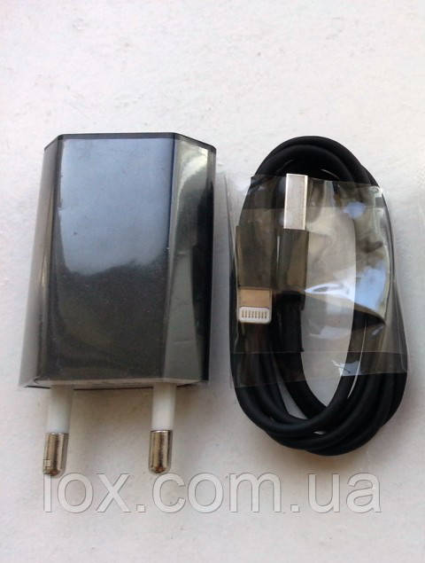 Зарядное 2в1 + USB кабель для Iphone 6