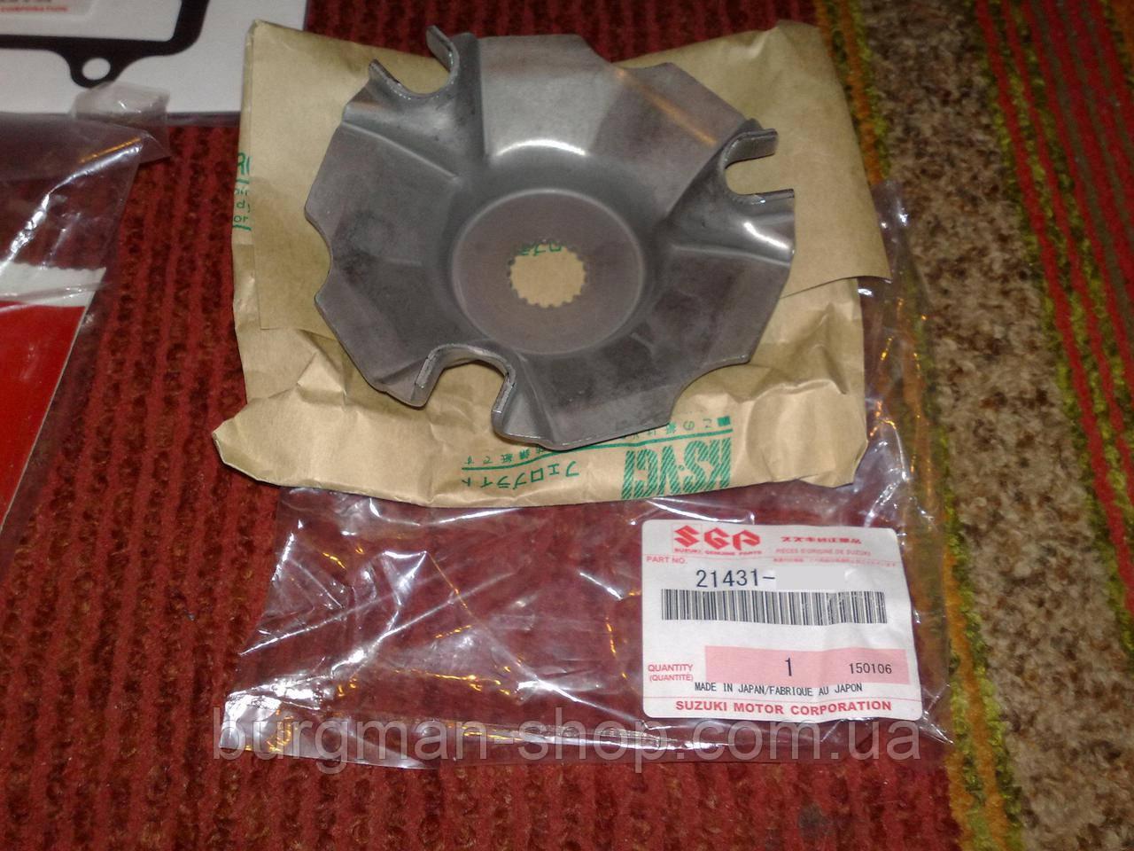 Мет. плата вариатора 250K7 Suzuki Burgman SkyWave 21431-06H00