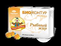 Рыбный жир пищевой Биоконтур 100капс.