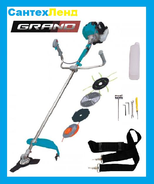Коса бензиновая GRAND БГ-4700 (3 ножа ,2 катушки)