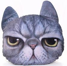 Декоративна 3D подушка Кіт Кузя