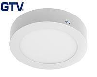 Светодиодный LED светильник GTV, 19W, 4000К, круглый, накладной, IP20, ORIS. ПОЛЬША!!! Гарантия - 3 года