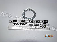 Кольцо стальное 24 (зубчатое), кат. № DIN 6798A