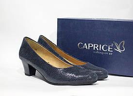 Шикарные кожаные туфли Caprice, Германия-Оригинал