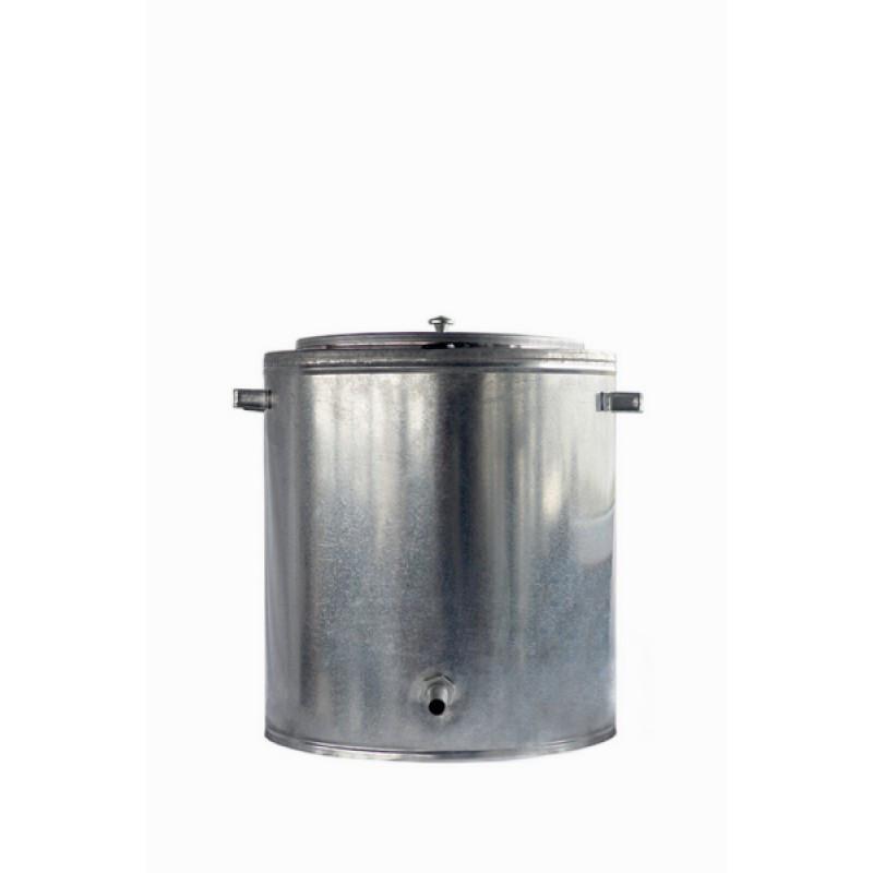 Воскотопка паровая 17л (оцинковка -снаружи,середина -н/ж)