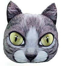 Декоративна 3D подушка Кіт Наглюка