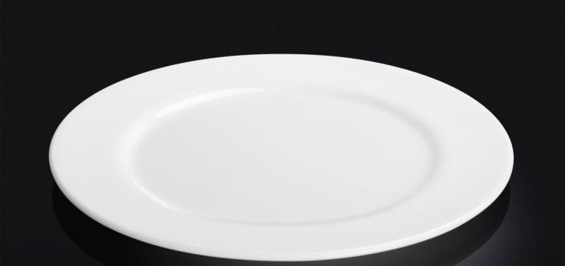 Тарелка фарфоровая подставная Wilmax WL-991180  (25 см)