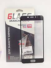 Защитное стекло Meizu M3e Black