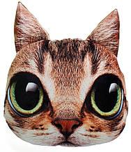 Декоративна 3D подушка Кіт Няшечка
