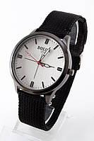 Мужские наручные часы Bolun (белый циферблат, черный ремешок), фото 1