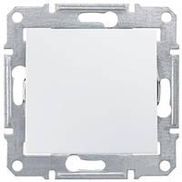 Выключатель проходной Белый Sedna Schneider, SDN0400121