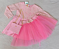Нарядное детское платье для девочки от 1 до 4 лет