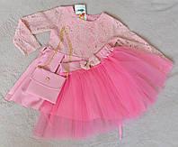 Нарядное детское платье для девочки 110 размер, фото 1