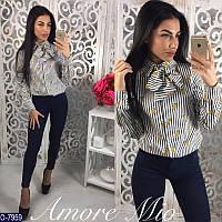 "Рубашка женская (42;44) ""AmoreMio"" - купить оптом со склада 2P/RVS-1335/2"