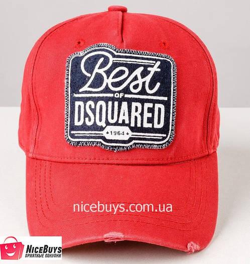 """Бейсбольная Кепка Dsquared2 С Нашивкой """"Best"""" (Код: DS4)"""