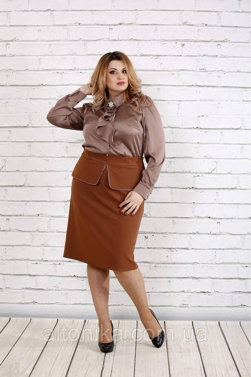 Женская  шелковая блузка | 42-74
