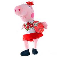 Мягкая игрушка свинка Пеппа, (пасхальная)