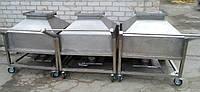 Бункер из нержавеющей стали для сыпучих продуктов и смесей, фото 1