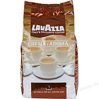 Кофе зерновой  Lavazza Crema Aroma (Лавацца Крема Арома коричневая)