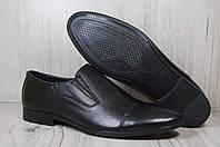 Мужские классические туфли из гладкой кожи, фото 1