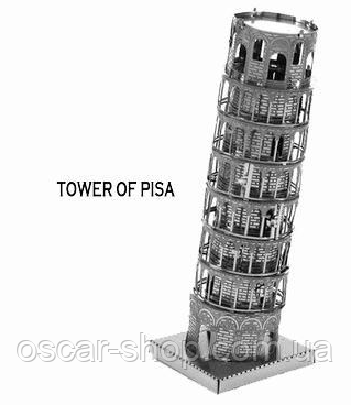 """Металлический конструктор """"Пизанская башня"""""""