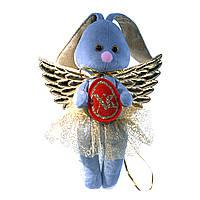 Детская мягкая игрушка Ангел, зайка пасхальный
