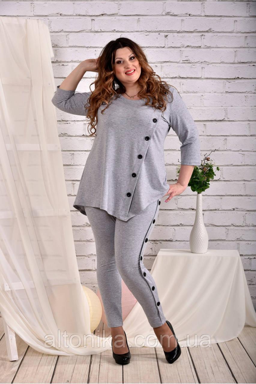 Женская ассиметричная блузка 42-74
