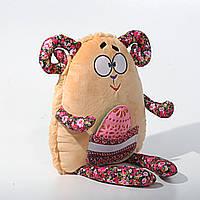 Детская мягкая игрушка, сувенир,Барашик пасхальный (писанка), фото 1
