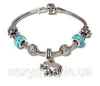 Браслет PANDORA Слон (Пандора)