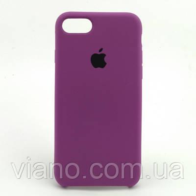 Силиконовый чехол iPhone 7/8 (Ультрафиолет). Apple silicone case