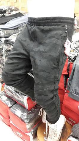 Брюки мужские трикотажные Tommy Life  камуфляжные, фото 2