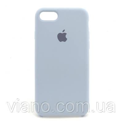 Силиконовый чехол iPhone 7/8 (Светло голубой). Apple silicone case