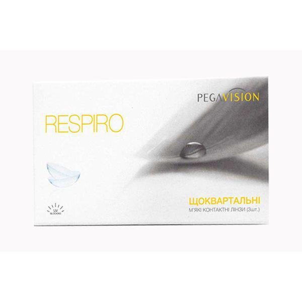 Линзы контактные на 3 месяца Respiro, Pegavision (1 шт)