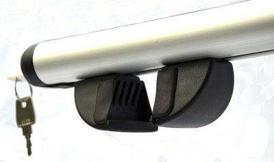 Багажник на крышу с аэродинамической поперечиной TERRA AERO 1.3м, фото 2
