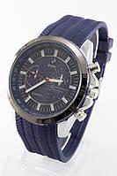 Мужские наручные часы (синий циферблат, синий ремешок), фото 1