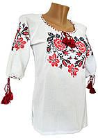 Сорочка вишиванка для дівчинки з розами