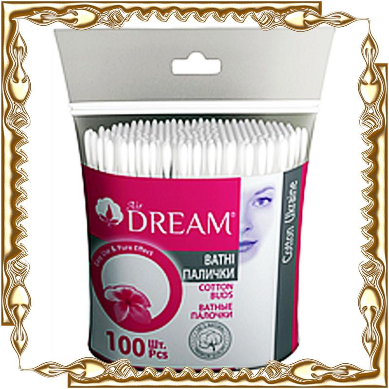 Ватные палочки Dream 100 шт.