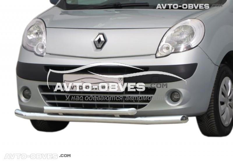 Захисна дуга подвійна для Renault Kangoo 2008-..., вироб. Туреччина