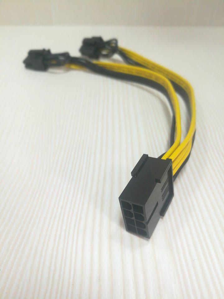 Кабель 8pin GPU-2*8(6+2)Pin PCI-E питание #100495